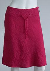 Linen skirt D07120 CV2