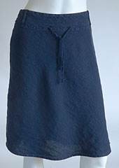 Linen skirt D07120 NA1