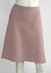 Linen skirt D07123 RU1