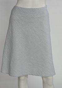 Lněná sukně D07123 SE1