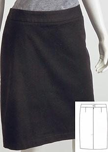 Dámská sukně D07281 CE1