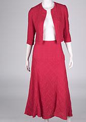 Linen skirt D07363 CV2