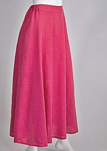 Linen skirt D07470 CV2