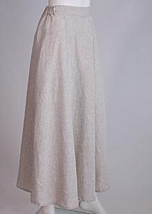 Linen skirt D07470 VBE