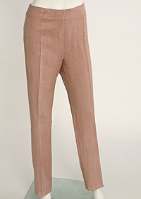 Women's linen trousers D112220 OR1