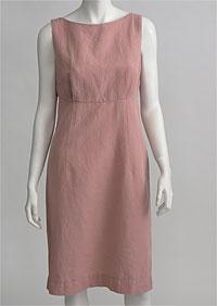 Linen Dress D22626 OR1