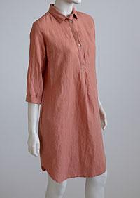 Linen Dress D22780 OR1