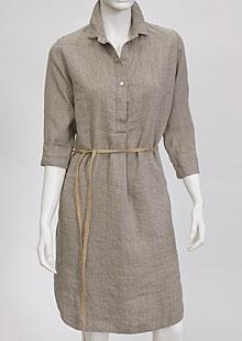Linen Dress D22781 BE3