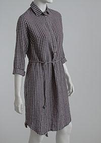 Linen Dress D22782 KRU