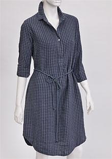 Linen Dress D22782 KSE