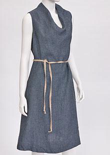 Linen Dress D22801 VNA