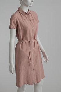 Linen Dress D22810 OR1