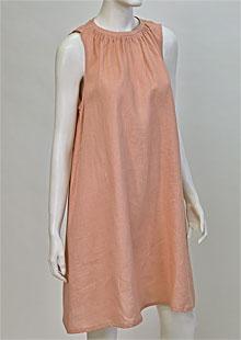 Linen Dress D22840 OR2