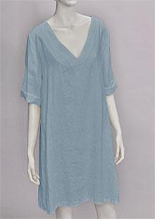 Linen Dress D22871 MO1