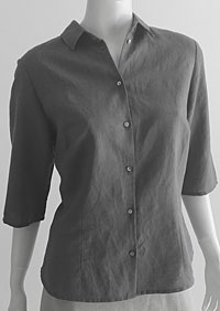 Ladies linen shirt D44462 SE2