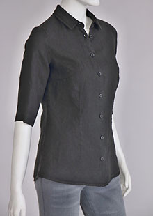 Ladies linen shirt D44464 CE1