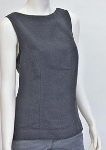 Linen blouse D44470 AN1