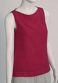 Linen blouse D44471 CV2