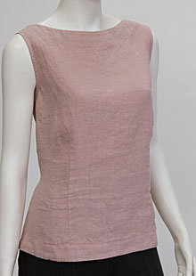 Linen blouse D44471 RU1