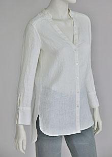 Linen blouse D44540 BI2