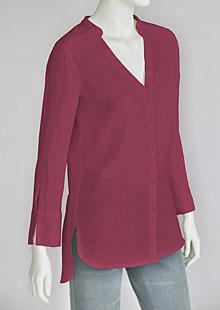 Linen blouse D44541 CV2