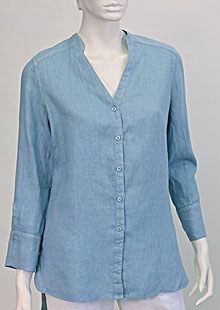 Linen blouse D44541 MO1
