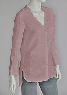 Linen blouse D44541 RU1