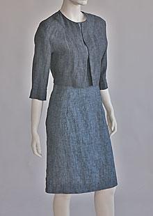 Women linen jacket D53090 VNA