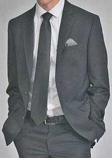 Men's Slim Suit Jacket H53530 AN1