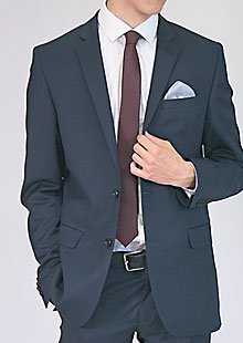 Men's Slim Suit Jacket H53530 NA1