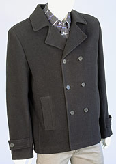 Pánský vlněný kabát H71041 CE1