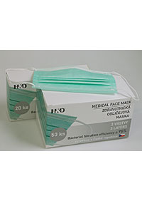 Disposable protective masks 20  pieces, BFE≥ 98%, attached to the ears M900620 ZE1