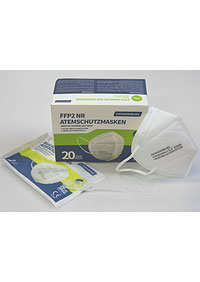 Imported respirators FFP2 packed in 20 pieces in a sterile bag, in stock M901020 BI1