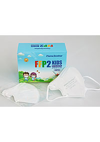 Imported baby respirators FFP2 packed in 20 pieces in a sterile bag, in stock 20 KS/KRAB. M90160 BI1
