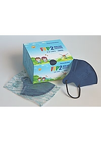 Imported baby respirators FFP2 packed in 20 pieces in a sterile bag, in stock 20 KS/KRAB. M90160 NA2
