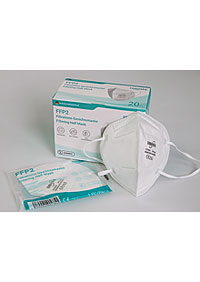 Imported respirators FFP2 packed in 20 pieces in a sterile bag, in stock M951220 BI1