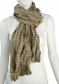 Linen scarf W87280 KZL