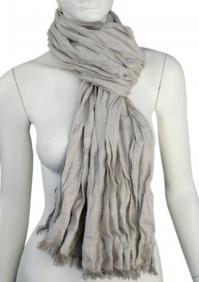 Linen scarf W87280 PBE