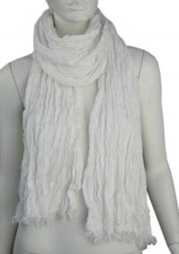 Linen scarf W87380 BI1