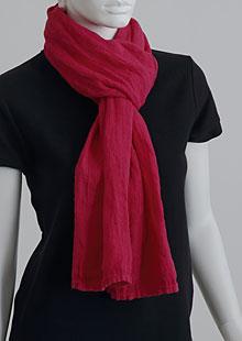 Linen scarf W87383 CV2