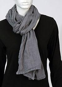 Linen scarf W87383 SE1