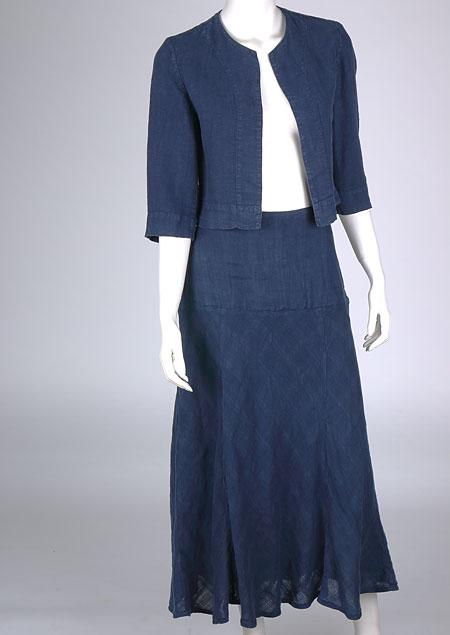 Linen skirt D07363 NA1
