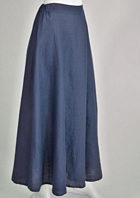Linen skirt D07470 NA3