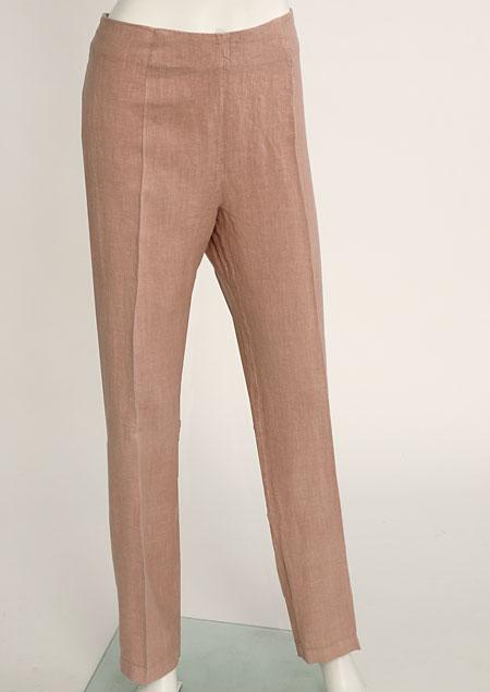 Women's linen trousers D112220 OR1
