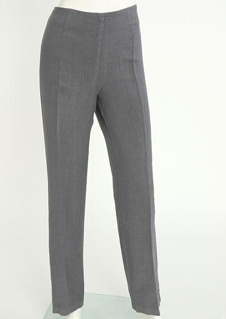 Dámské lněné kalhoty D112220 SE2