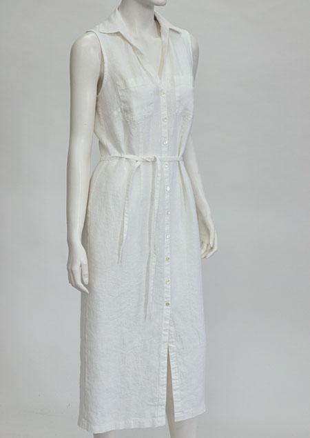 Linen Dress D21331 BI2