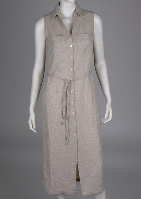 Linen Dress D21331 ZBE