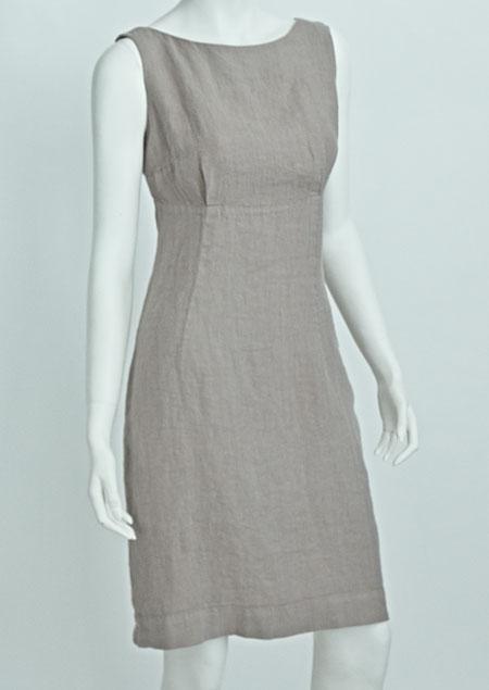 Linen Dress D22624 BE3