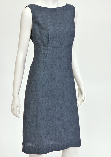Linen Dress D22624 VNA