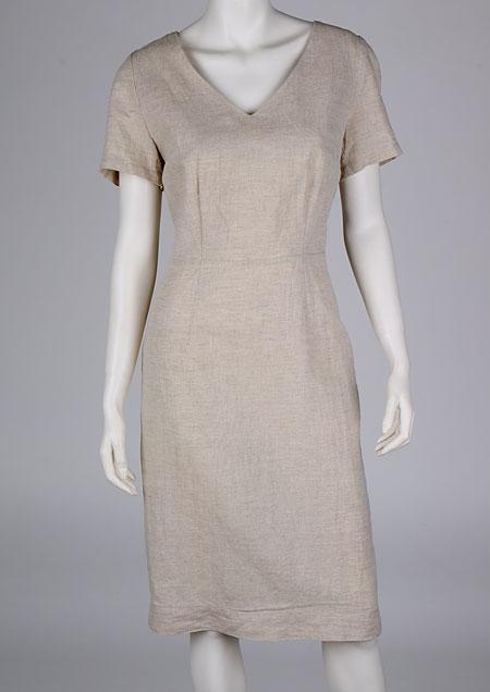 Linen Dress D22711 ZBE